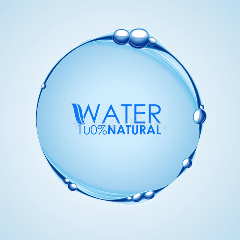 Water wave bubble circle stock illustration Illustration of