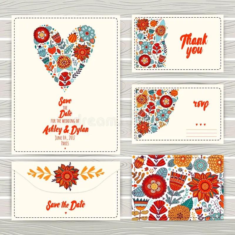 Wedding Invitation Template Invitation, Envelope, Thank You Card