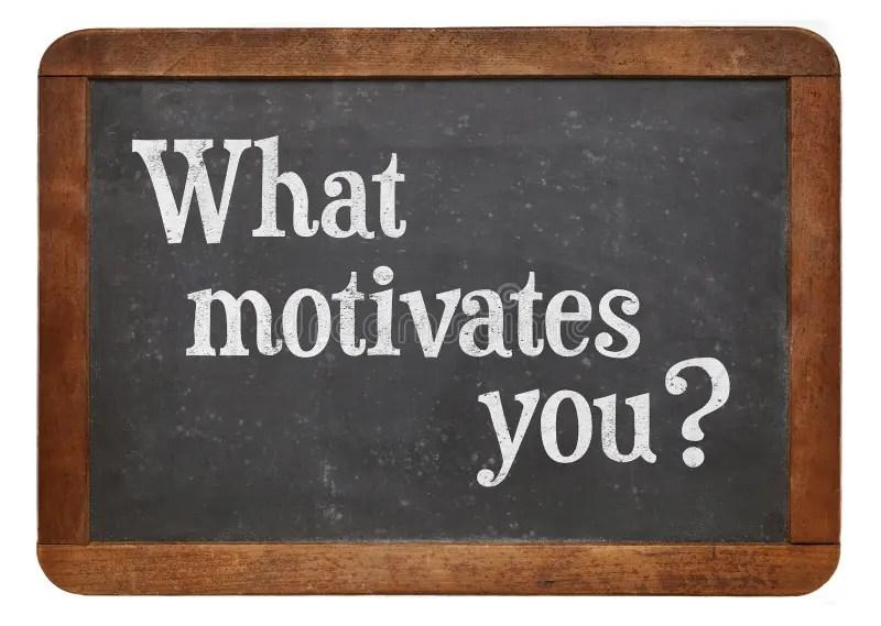What motivates you ? stock image Image of isolated, inspiration - what motivates you