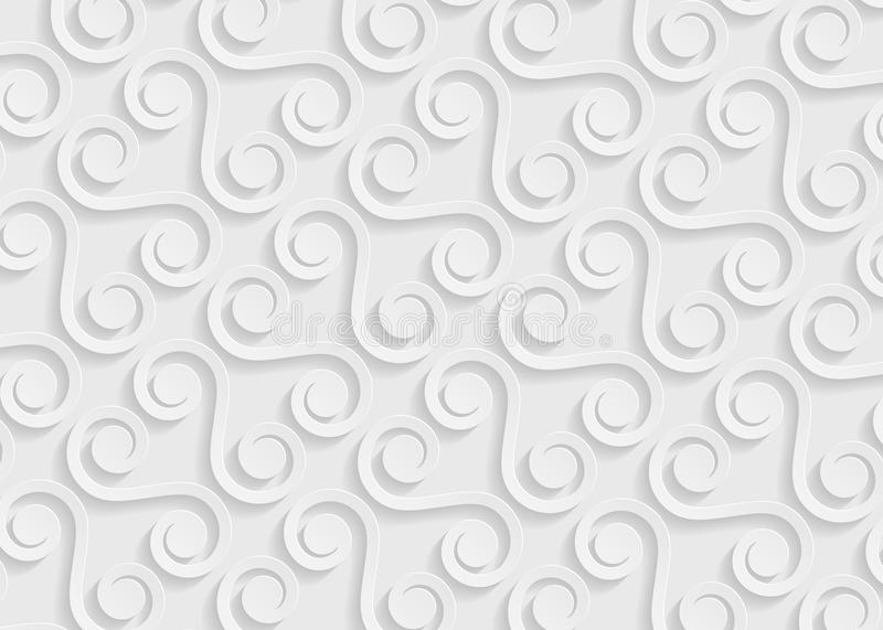 White Paper Geometric Pattern, Abstract Background Template For - white paper template