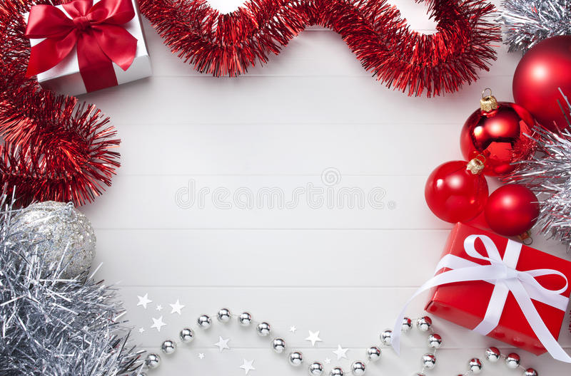 White  Red Christmas Background Stock Image - Image of decoration - christmas background image