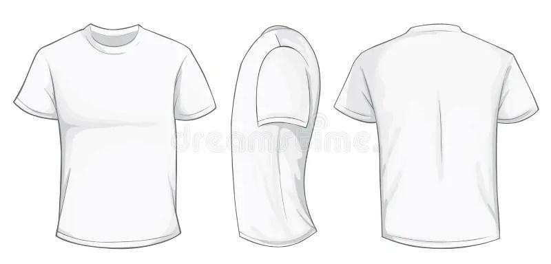 White Shirt Template stock vector Illustration of template - 75708246 - t shirt template