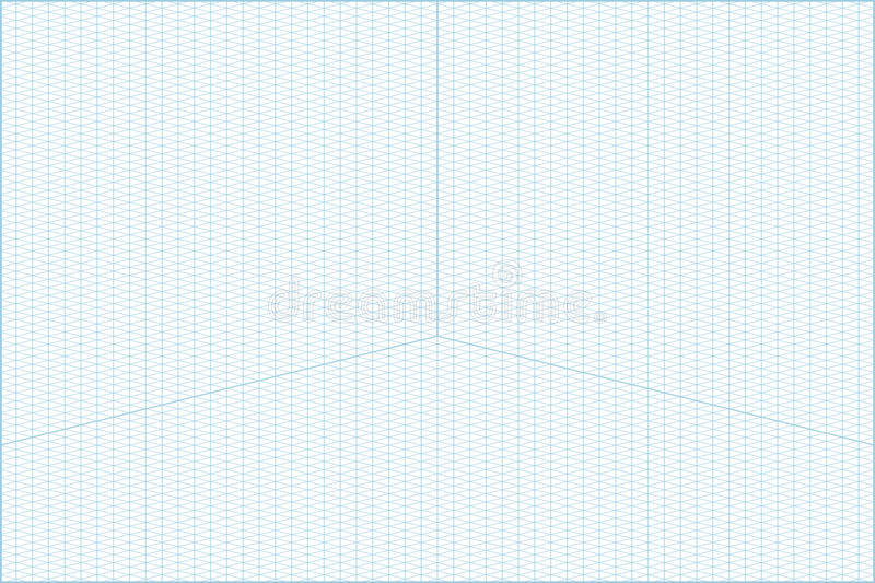 Wide Angle Isometric Grid Graph Paper Background Stock Vector - isometric graph paper