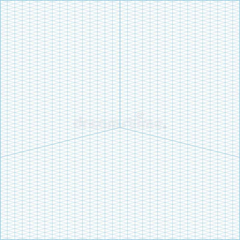 ... Wide Angle Isometric Grid Graph Paper Background Stock Vector    Isometric Graph Paper ...