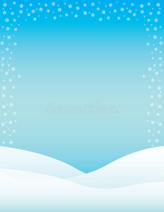 Winter Brochure Background stock illustration Illustration of - winter flyer template