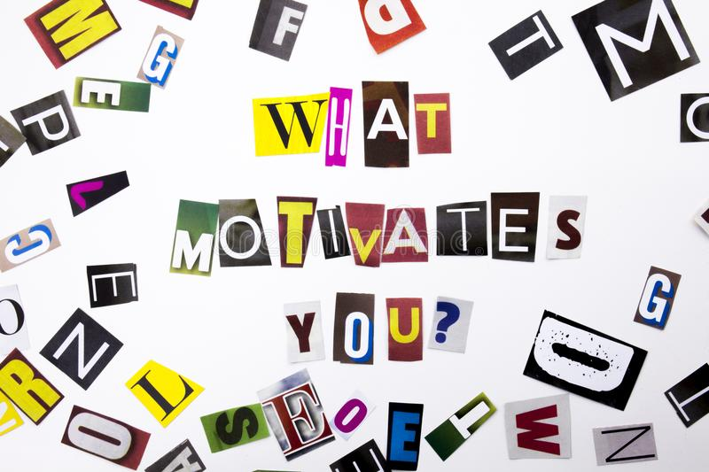 A Word Writing Text Showing Concept Of What Motivates You Question - what motivates you