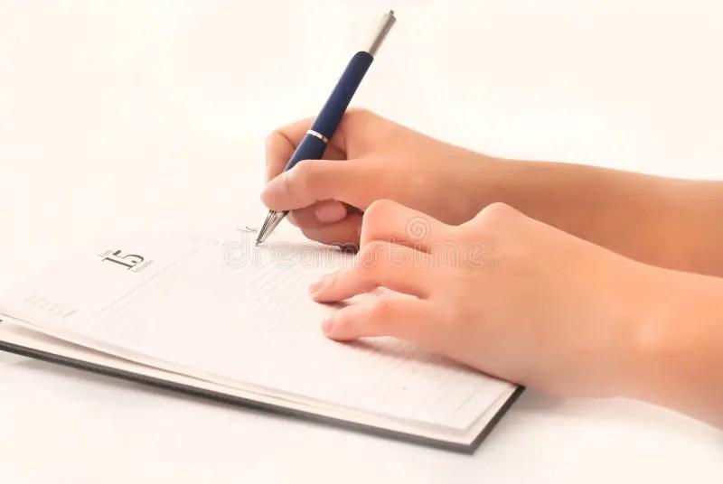 Writing on agenda stock image Image of mail, document - 19058897 - agenda writing