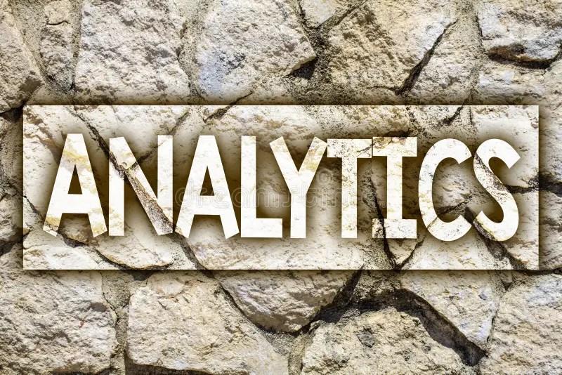 Writing Note Showing Analytics Business Photo Showcasing Data