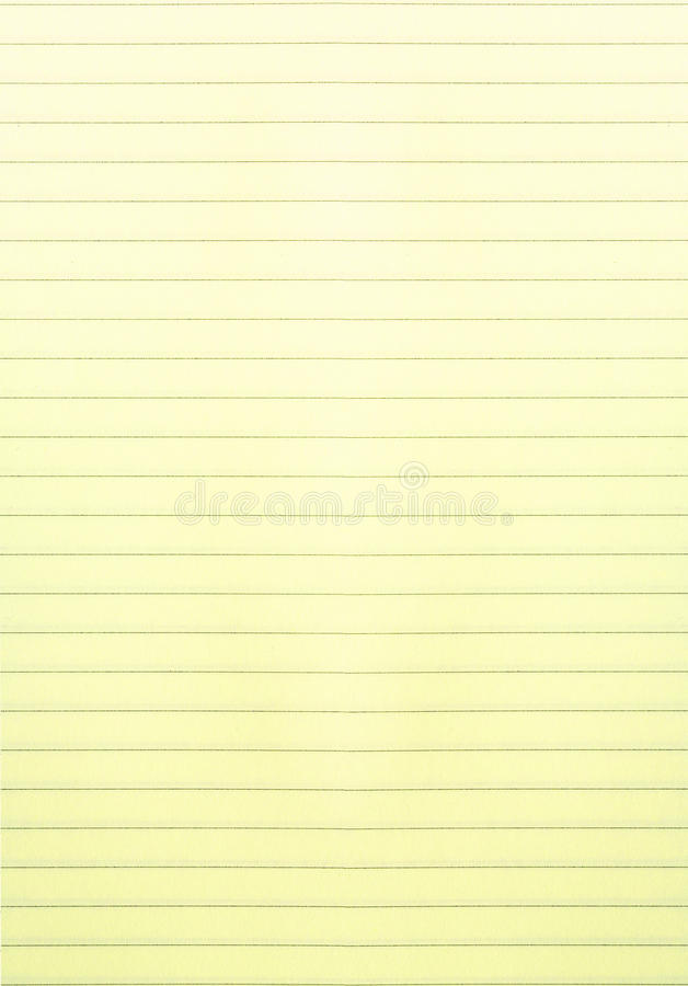 Yellow lined paper stock photo Image of reminder, closeup - 31203764 - line paper background