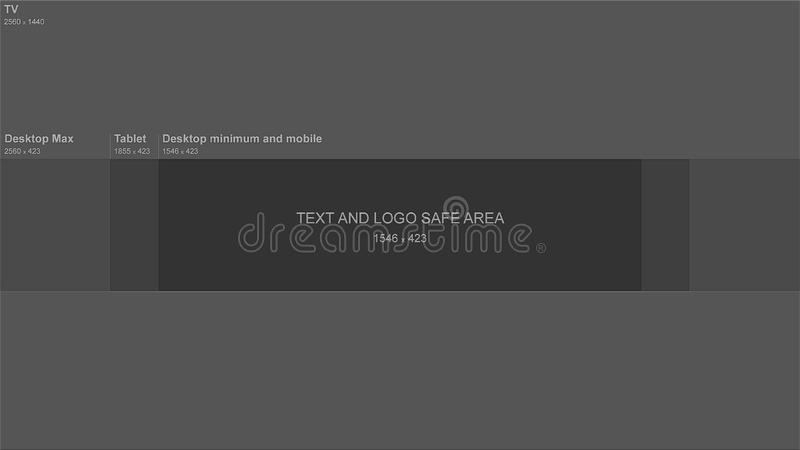 Youtube Banner Backgound stock illustration Illustration of - how to make banner for youtube