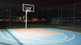Gym 3d Wallpaper Sport Basketball Court At Night Stock Photo Image 3611098