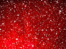 Falling Snow Wallpaper Download Red Abstract Christmas Stars Background Stock Photo