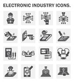 test repair job on electronic printed circuit boar royalty freecomputer test icon stock vector