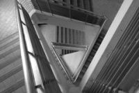 Pattern Of Triangle Stair Stock Photo - Image: 39911946