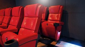 Old Cinema Chairs Stock Photo Image Of Motion Picture