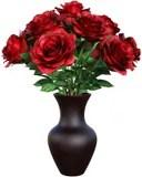 White Rose On Glass Vase Decoupage YouTube
