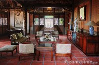 Living room of classical Chinese house