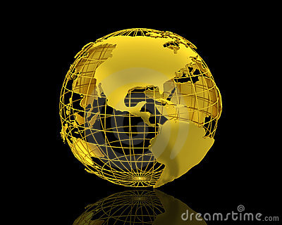 Black Gold Wallpaper 3d World Map Royalty Free Stock Photos Image 8588188
