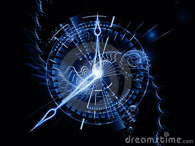 3d Wallpapers Blue Theme Wallpaper Abstract Clock Backdrop Stock Images Image 24163084