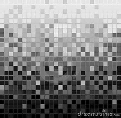 Cubes 3d Wallpaper Abstract Square Pixel Mosaic Background Royalty Free Stock
