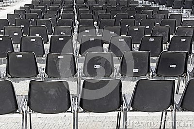 Audience Chairs Stock Photo Image 42215898
