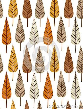 Colorful Animal Print Wallpaper Autumn Leaf Seamless Pattern Royalty Free Stock