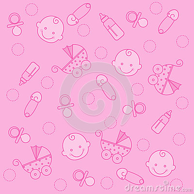 Cute Newborn Baby Hd Wallpapers Baby Girl Background Stock Photography Image 9972302