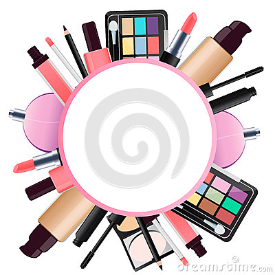 Cute Nail Arts Wallpaper Background Cosmetics Stock Vector Image 57440128