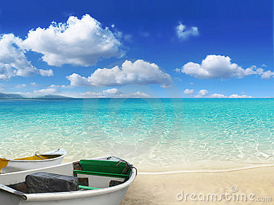 Canvas Hi Beautiful 3d Wallpaper Beach Scene Royalty Free Stock Photo Image 18895065