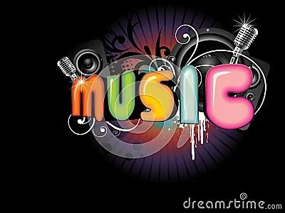 Download Wallpaper Keren 3d Beautiful Music Background Royalty Free Stock Photography