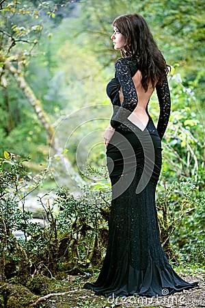 Rasta Girl Wallpaper Beauty Brunette Woman In Abkhazia Forest Royalty Free