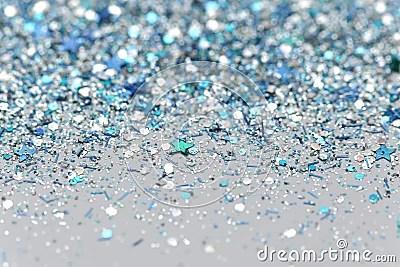 Free Desktop Wallpaper Falling Snow Blue And Silver Frozen Snow Winter Sparkling Stars Glitter