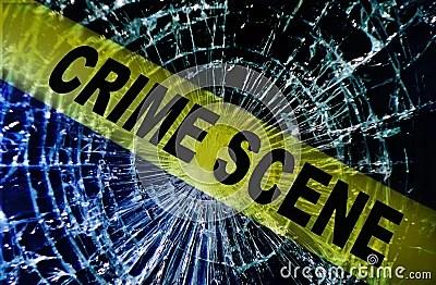 3d Animation Wallpaper For Pc Download Broken Window Crime Scene Stock Images Image 28657244