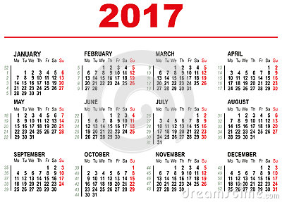 Web Calendar App 2017 2017