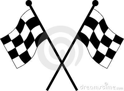 Wallpaper Border For Girl Nursery Car Racing Flags Stock Photos Image 14579553
