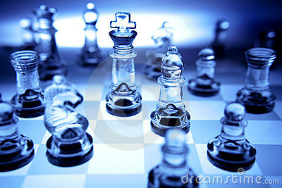 Hd 3d Wallpaper For Laptop Free Download Chess Pieces In Blue Tone Royalty Free Stock Photo Image