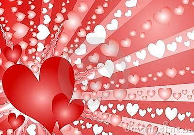 I Love You Heart Wallpaper 3d Animation Colorful Valentine S Day Heart Background Royalty Free