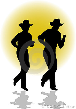 Wallpaper Country Girl Country Line Dancing Couple Ai Stock Photos Image 6504773