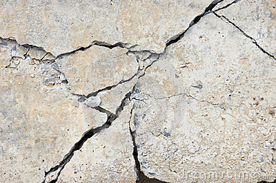 3d Stone Wallpaper For Walls Crack Concrete Royalty Free Stock Photography Image