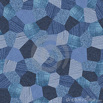 Computer Wallpaper In 3d Denim Pattern Collage Seamless Texture Stock Images