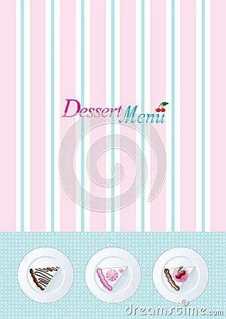 Dessert Menu Templates bigking keywords and pictures