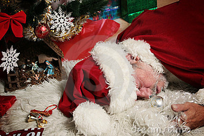 Happy Christmas Wallpaper 3d Drunk Santa Claus Stock Images Image 3375144