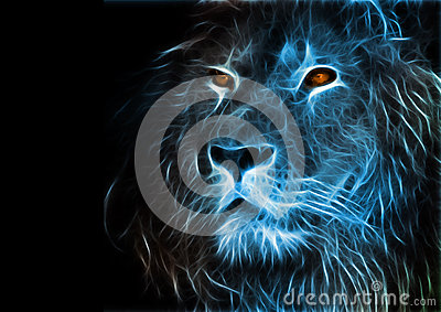 Beautiful Wallpapers 3d Animation Fantasy Art Of A Lion Stock Illustration Image 41826664