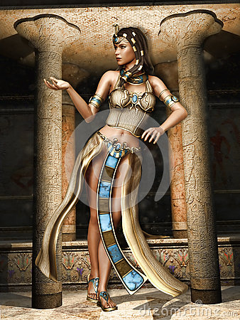 Girl Praying To God Wallpaper Fantasy Egyptian Dancer Stock Illustration Image 44050949