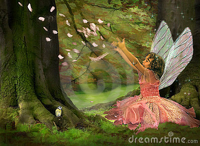 Motherboard Wallpaper 3d Feather Fairy Stock Images Image 4690924