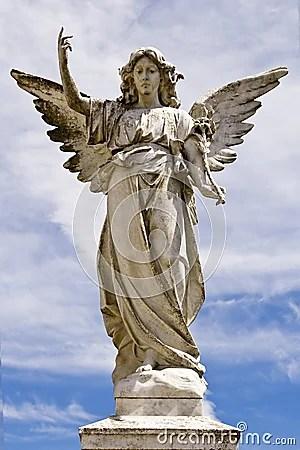 Sad Animation Wallpaper Female Angel Statue Royalty Free Stock Image Image 31494016