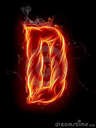 3d Hd Graphics Wallpapers Fire Letter D Royalty Free Stock Photos Image 7197608
