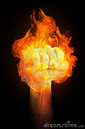 3d All Wallpaper Free Download Fist On Fire Royalty Free Stock Photo Image 20521945