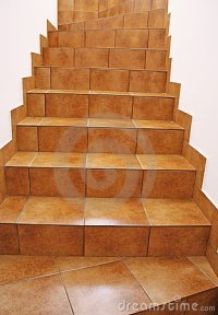 Floor Tile Stairs Royalty Free Stock Photos