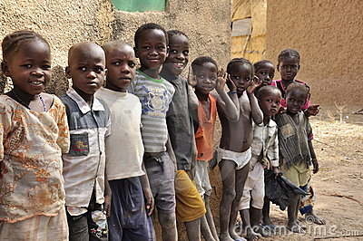 Cute Muslim Girl Wallpaper Group Of African Children At School Editorial Photography